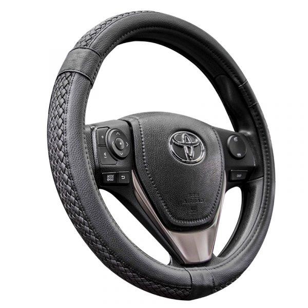 Car Weave Steering Wheel Cover