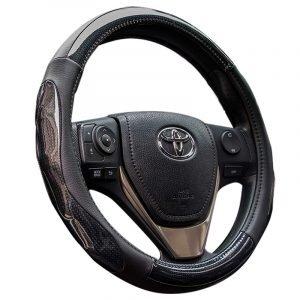Carbon Fiber Steering Wheel Cover