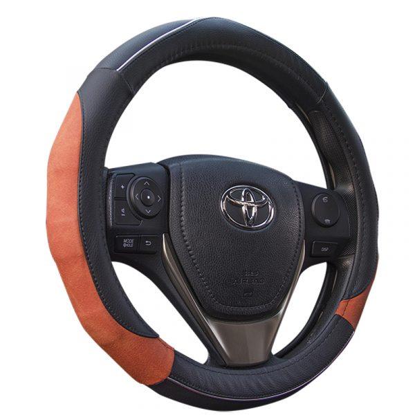 Deluxe Matte Grip Steering Wheel Cover