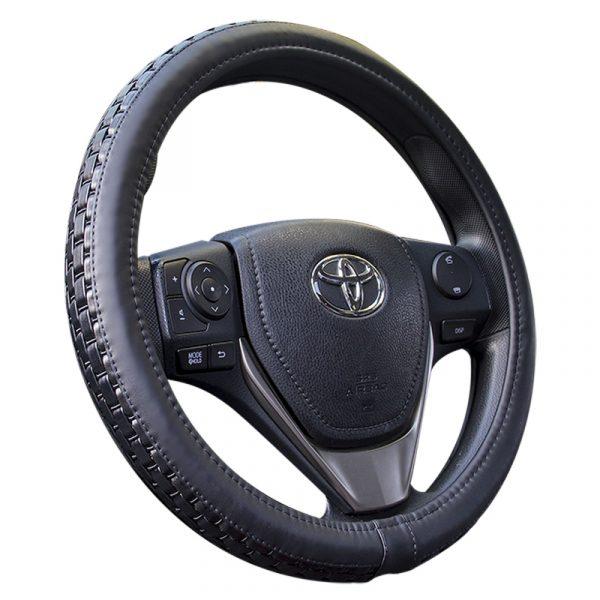 Deluxe Weave Steering Wheel Cover