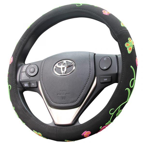 Flower Steering Wheel Cover for Girls