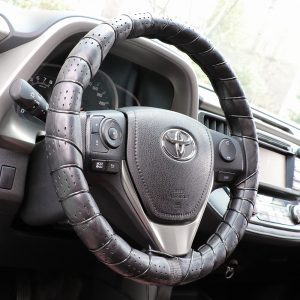 Lace On Steering Wheel Cover