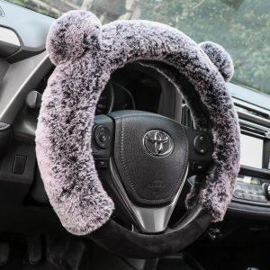Lovely Kitty Steering Wheel Cover