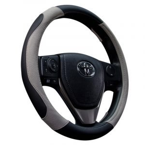 Matte PU Steering Wheel Cover