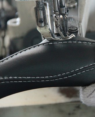 production of steering wheel cover
