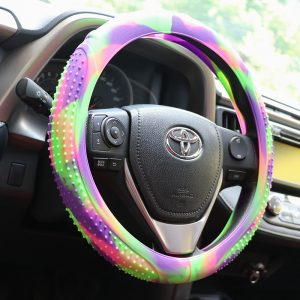 Colorful Steering Wheel Cover